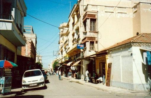 Rue Carnot en 2008 depuis la rue Pasteur - Doc. JM GIRARD