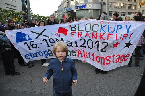 Frankfurt, Blockupy, 16.05.2012
