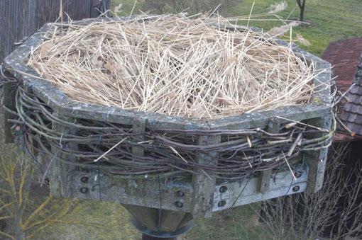 Das fertige Nest