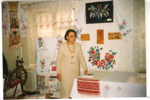 """Музейна кімната """"Світлиця"""". Завідувач - Сулімовська О.І."""