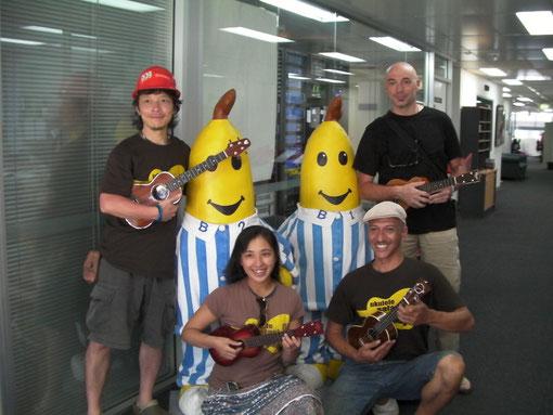ABCラジオにて バナナ君と