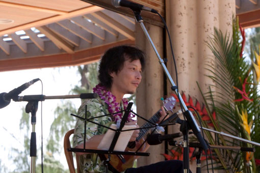 39th   ANNUAL  UKULELE  FESTIVAL in 2009 (写真提供 KATHY SAKUMA )