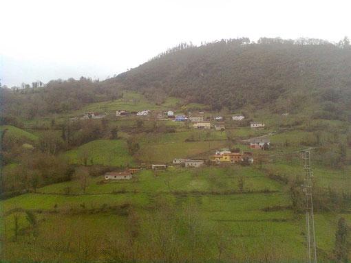 """Vista desde el monte """"Rubiano"""""""