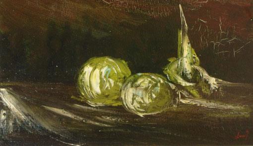 Bodegón - Oleo sobre lienzo 1980