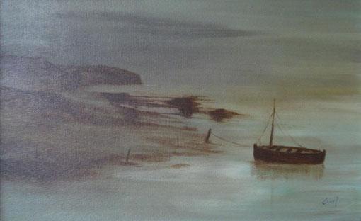 Marina 2 - Oleo sobre lienzo 1981