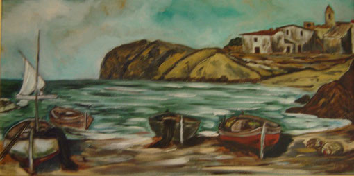 Bahia - Oleo sobre lienzo 1981