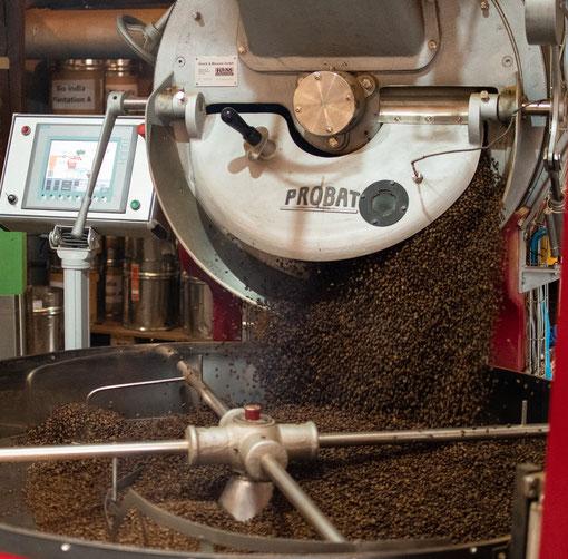 Röstmaschine zum Rösten der Kaffeebohnen Hannover
