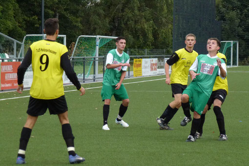 Verdienter Ausgleich in der Schlussminute: TuS A-Jugend am Schetters Busch (Foto: mal).