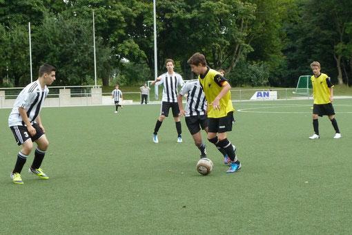 Die TuS C-Jugend musste sich an der Seumannstraße mit 1:3 geschlagen geben (Foto: nal).