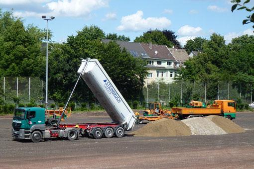 30. Juli - Pelmanstraße am Nachmittag (Foto: mal).