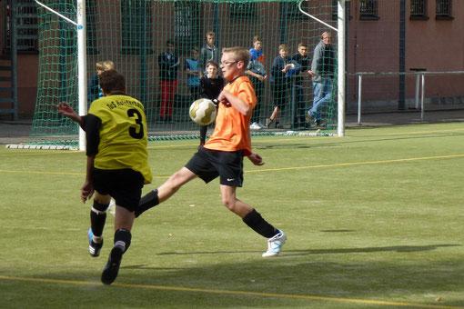 Zweistellig mit 13:0 gewann die C-Jugend bei der C4 der SG Schönebeck (Foto: mal).