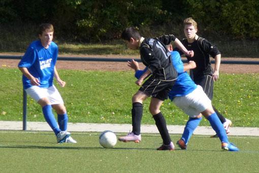 Es war mehr drin für die TuS B-Jugend beim 2:4 in Vogelheim (Foto: mal).