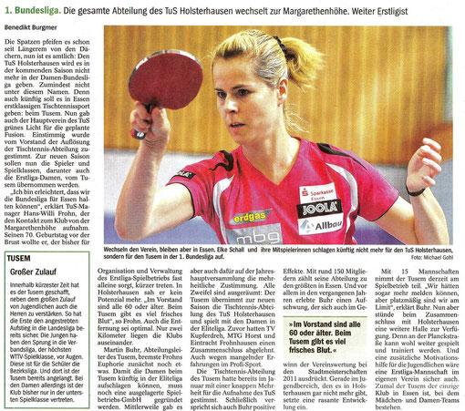 NRZ, 21.03.2012.  -  Zum Vergrößern bitte anklicken!