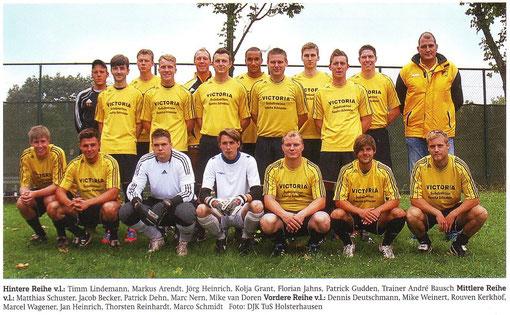 1. Mannschaft - Saisonauftakt 2012/13.
