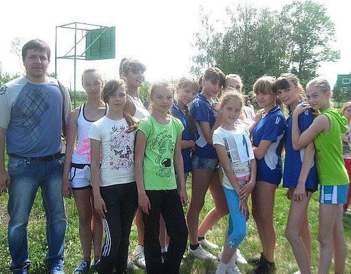 Легкоатлетический турнир в Карельском филиале МБОУ Устьинская СОШ  май 2012