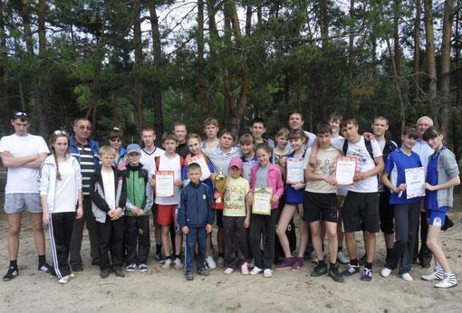 Победители районного кросса 2012