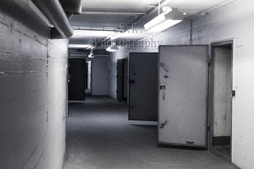 Luftschutzkeller unter dem Gebäude