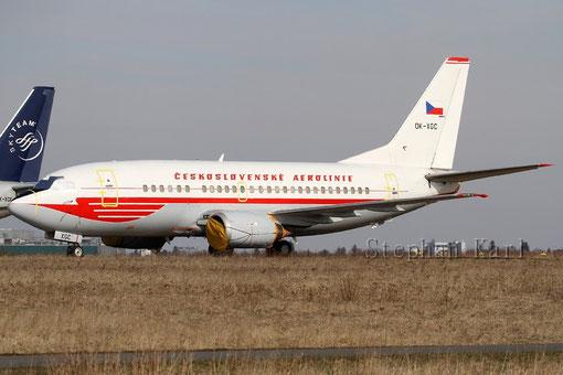 CSA 737-500 OK-XGC