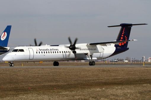 Brussels Airlines Dash 8 G-ECOK