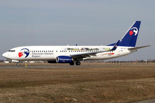 Travel Service 737-800 OK-TVL