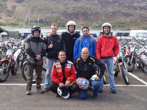 Moto Club Olot als Scottish Six Days Trial 2009 - Dobles guanyadors equips