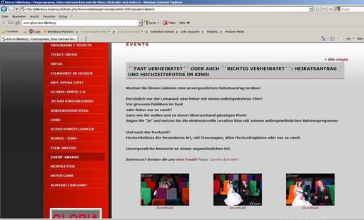 Vielen Dank Christin & Sandro! http://dillenburg.cineprog.net