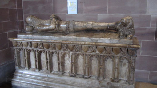 Effigy of Sir John de Bermingham d.1393