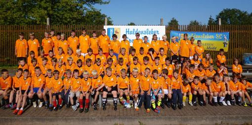 Das sind die rund 90 aktiven Teinehmer des Camp 2012