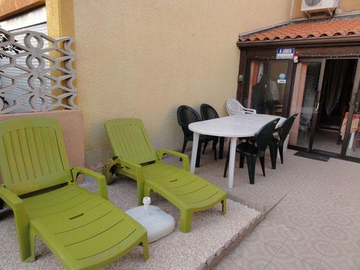 """chaises """" BAIN de SOLEIL """""""