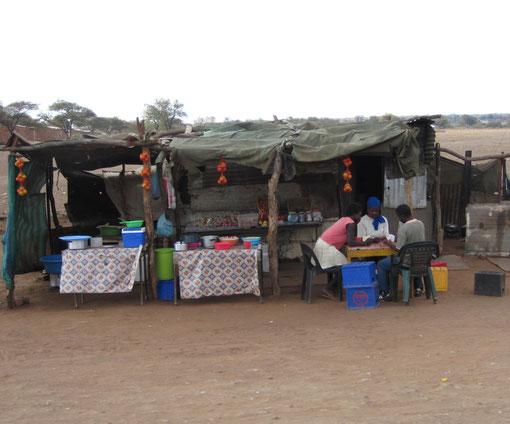 sulla pista verso il Mozambico