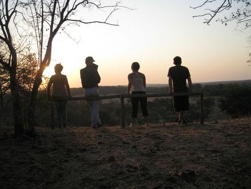 ..rito quasi obbligatorio..il tramonto dalla collina