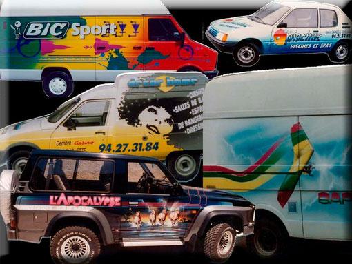 véhicules publicitaires