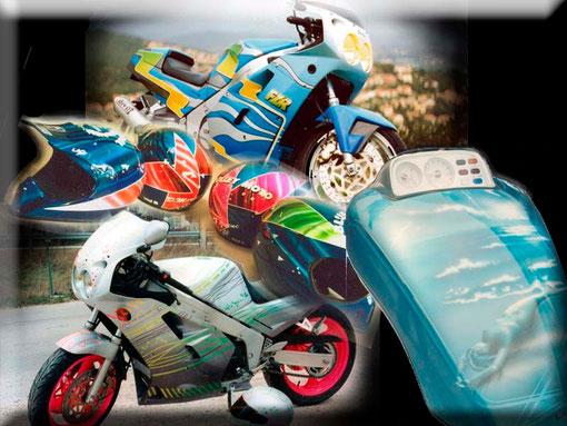 personnalisation motos