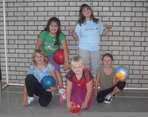 Kinder-Ballspielgruppe 1