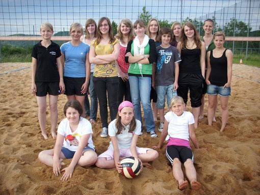 Volleyball-Mannschaft - Jugend