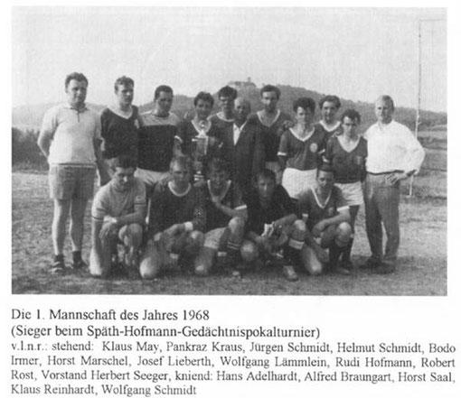 Mannschaft 1968/69