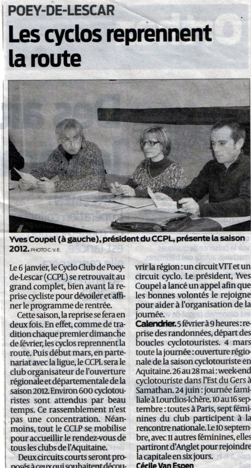 Un article signé Cécile VAN ESPEN