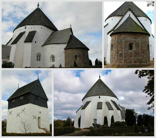 Østerlars Rundkirke : Borholm est réputée pour ses églises rondes fortifiées