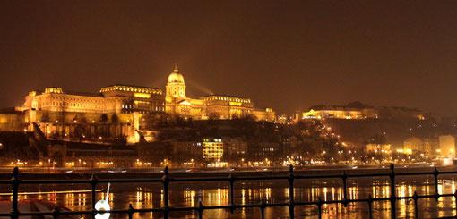 La colline de Buda et le château