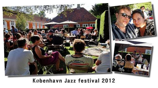 Une belle journée, un verre en terrasse et un peu de jazz... que demander de plus ?