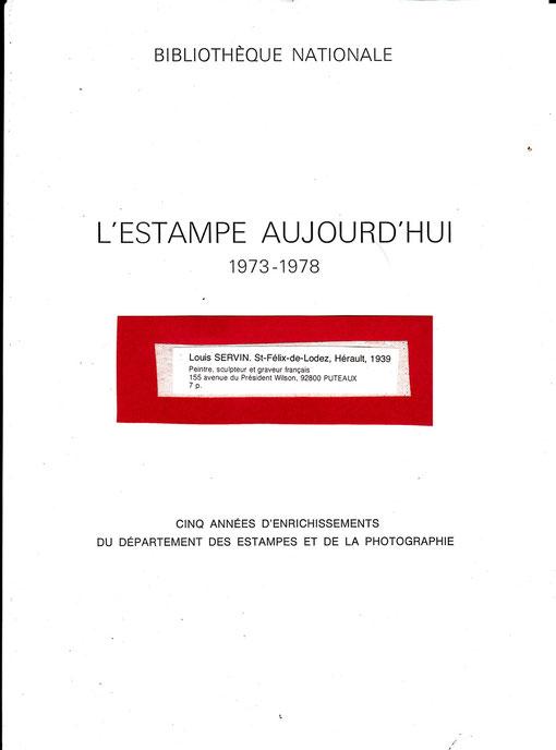 1978 EXPO Bibliothèque Nationale