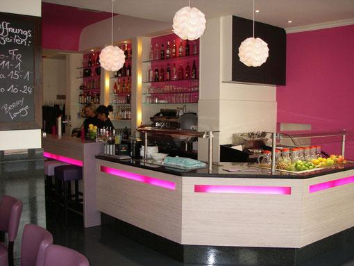 Berry Lounge Köln Tresenbereich