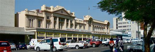 Koloniale Bauten in Simbabwe