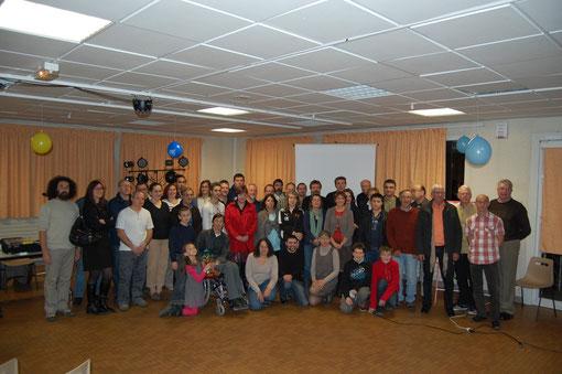 Le trophée à l'ASFAS (Fleury les Aubrais- Saran) pour les 40 ans du club