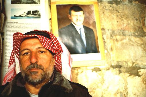 Jordanier mit Königs-Porträt