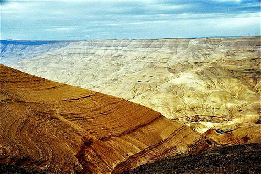 die eindrucksvollen Landschaften entlang des Kontinental-Grabens