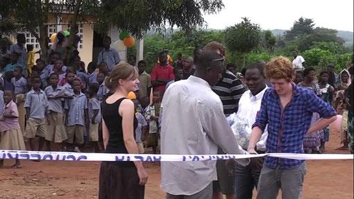 Eröffnung des Collège in Avéta