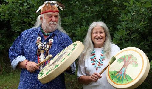 Sam Ours Bleu et Fly - Fabricants de tambours chamaniques depuis plus de 30ans