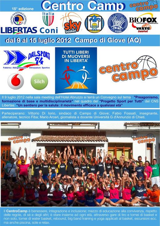 15° edizione del CENTRO CAMP