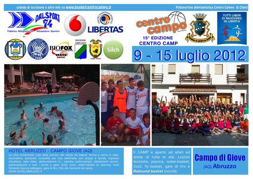 centro camp 2012